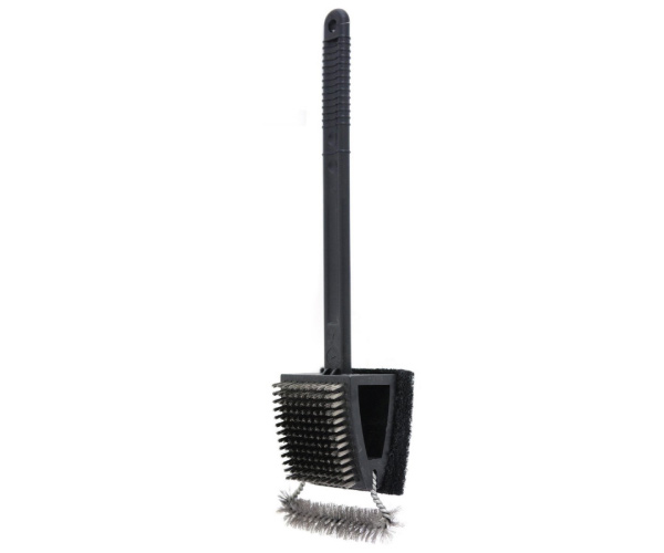Oversized Triple Action Grill Brush