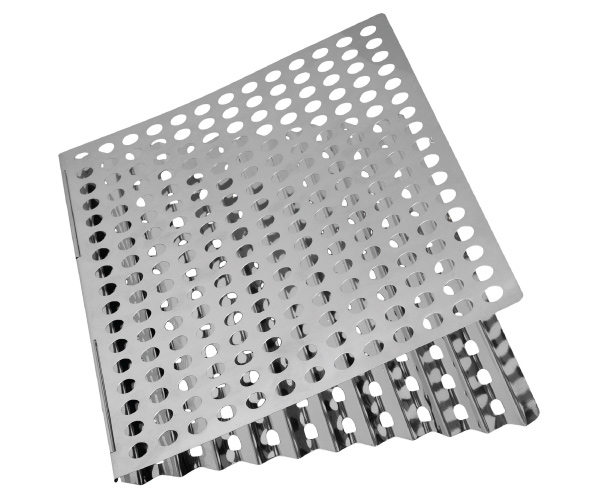 Stainless Steel Dual-Sided Barbecue Sheet 2